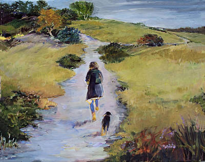 Painting - The Way Home by Diane Ursin
