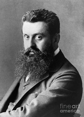 Theodor Herzl (1860-1904) Art Print by Granger