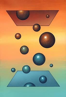 Thermodynamics, Conceptual Artwork Art Print by Richard Bizley