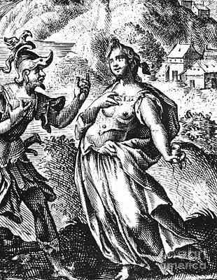 Theseus Photograph - Theseus And Ariadne by Granger