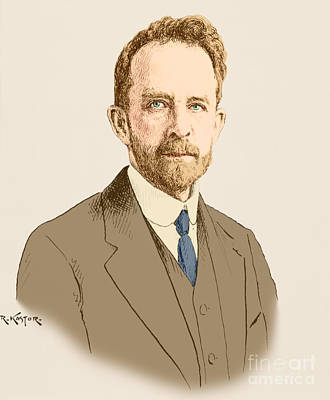 Heredity Photograph - Thomas Hunt Morgan, American Geneticist by Science Source