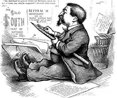 Thomas Nast (1840-1902) Art Print by Granger