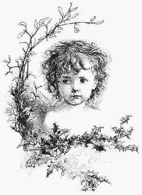 Photograph - Thomas Nast: Christ Child by Granger