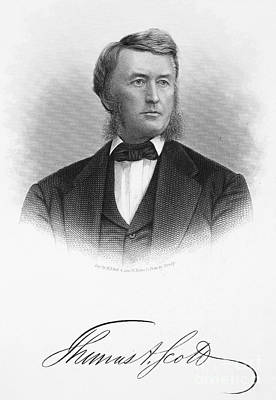 Thomas Scott (1823-1881) Art Print by Granger
