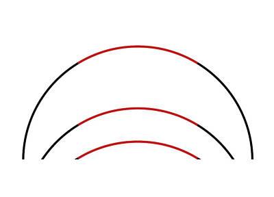 Ambiguity Photograph - Three Arc Illusion by