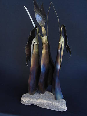 Sculpture - Three Graces by Todd Malenke