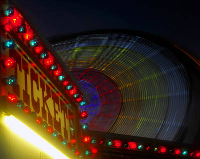 Florida State Fair Photograph - Tickets by David Lee Thompson