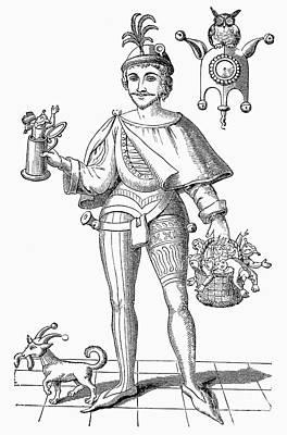 Stein Photograph - Till Eulenspiegel (d. 1350) by Granger