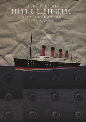 1907 Digital Art - Titanic Centennial by Stephane Le Blan