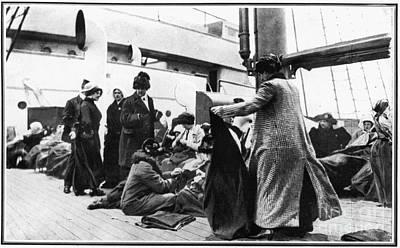 Photograph - Titanic: Survivors, 1912 by Granger