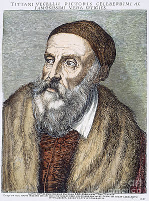 Skullcap Photograph - Titian (c1490-1576) by Granger