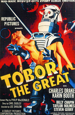 Subject Poster Art Photograph - Tobor The Great, 1954 by Everett