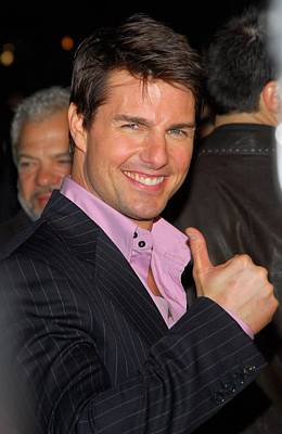 Tom Cruise At Arrivals For Mission Art Print by Everett