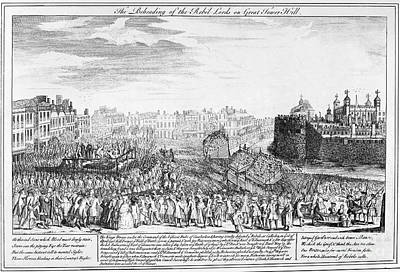 Tower Of London: Execution Art Print
