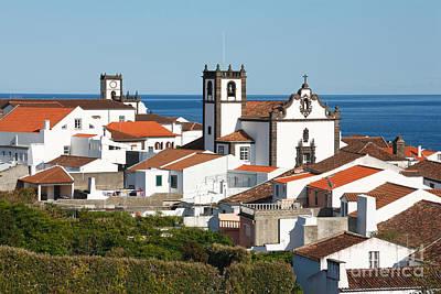 Town By The Sea Art Print by Gaspar Avila