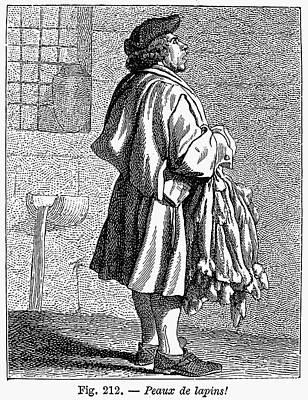 Town Crier, 18th Century Art Print