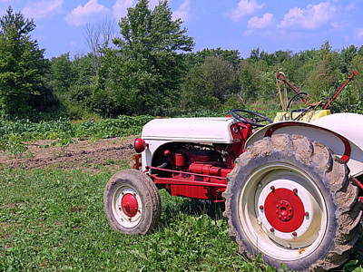 Photograph - Tractor by Janice Drew