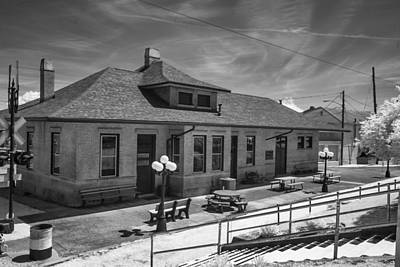 Photograph - Train Depot by Mary Almond