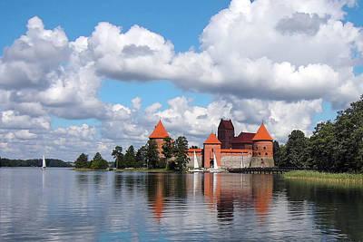 Trakai Castle Art Print by Aleksandr Volkov