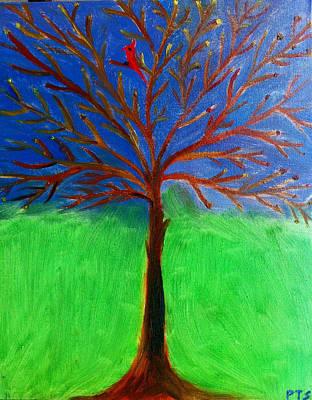 Tree Of Life Art Print by Prachi  Shah