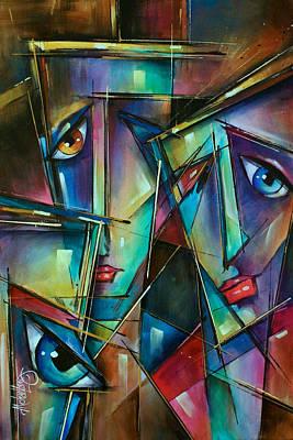Trio Art Print by Michael Lang