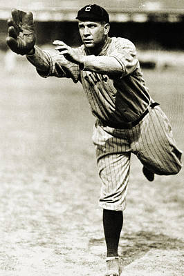 Photograph - Tris Speaker (1888-1958) by Granger