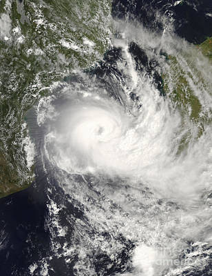 Tropical Cyclone Jokwe Art Print