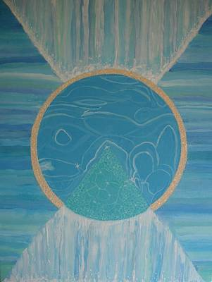 Wall Art - Painting - Tropical Waters I by Mari Dickinson