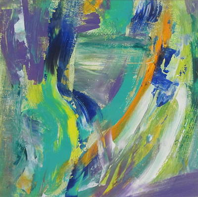 Painting - Tropicana 1 by Anita Burgermeister