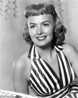 Trouble Along The Way, Donna Reed, 1953 Art Print