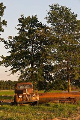 Target Threshold Nature - Truck and Tank 14 by Douglas Barnett