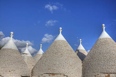 Alberobello Photograph - Trulli Of Apulia by Joana Kruse
