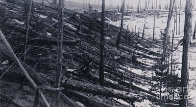 Tunguska Event, 1908 Print by Science Source