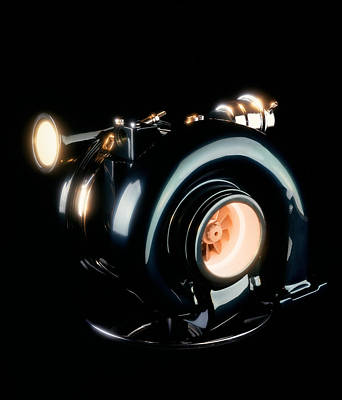 X2 Technology Photograph - Turbocharger by Mark Sykes