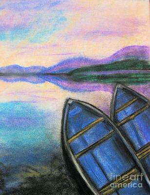 Twilight At Rest Art Print by Judy Via-Wolff