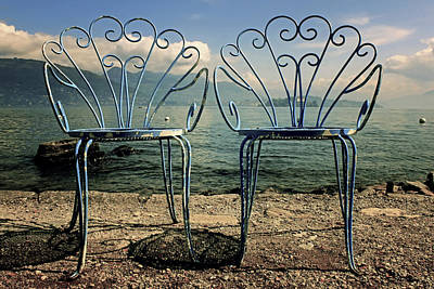 Photograph - Two Chairs by Joana Kruse