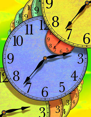 Colorful Art Digital Art - Two Thirty Seven by Mike McGlothlen