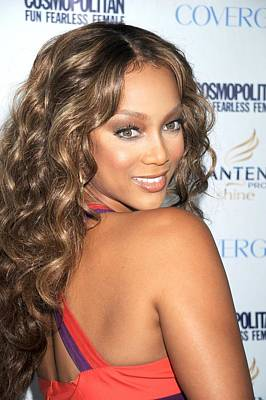 Tyra Photograph - Tyra Banks At Arrivals by Everett