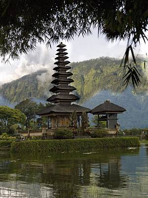 Travel - Ulun Danu Temple On Beratan Lake Bali by Keith Levit