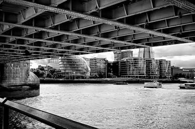 Photograph - Under The Bridge by Shirley Mitchell