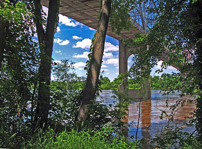 Healing Photograph - Under The Bridge by William Fields