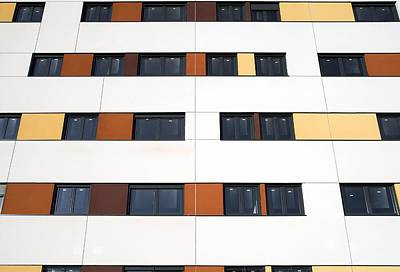 Unfinished Flats, Spain Art Print by Carlos Dominguez