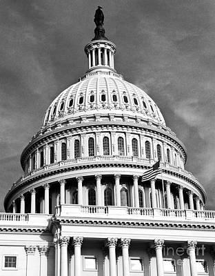 Us Senate Art Print by Syed Aqueel