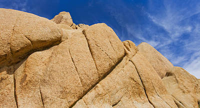 Y120907 Photograph - Usa, California, Joshua Tree National Park, Rock Formations by Tetra Images