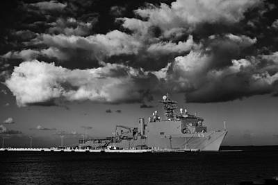 Photograph - Uss Fort Mchenry by Scott Meyer