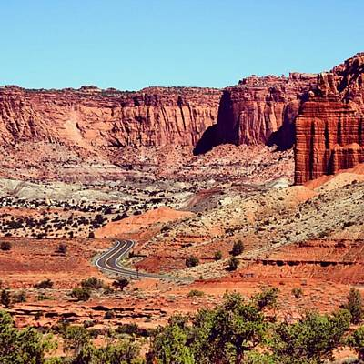 Rock Photograph - Utah by Luisa Azzolini