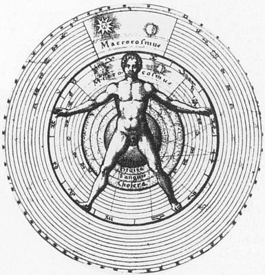 Utrisque Cosmi, Title Page, 1617 Art Print