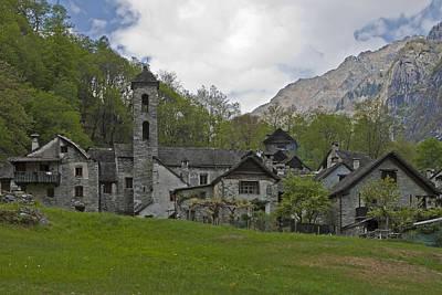 Rigid Photograph - Valle Bavona - Ticino by Joana Kruse