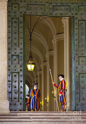 Photograph - Vatican Entrance by Brian Jannsen