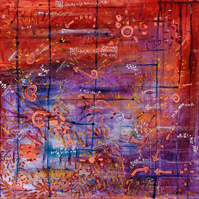 Painting - Vector Field by Regina Valluzzi